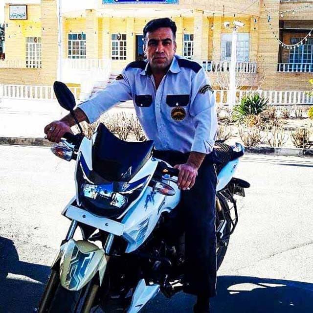 نگهبان حفاظتی و مراقبتی با موتور